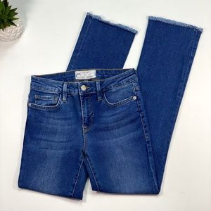 Free People Raw Hemmed Jeans Size 25